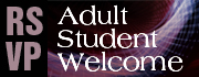 RSVP for the Adult Student Welcome